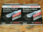 8 NEW BOSCH 9600 DOUBLE IRIDIUM SPARK PLUGS FOR CIRRUS CROSSFIRE TRACKER CIVIC