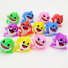 24x Baby Shark Party Favors Bag Fillers Lightup Baby Shark Rings Kids Gifts