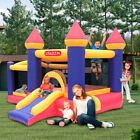 Safety Inflatable Bounce House Castle Kids Party Jumper Slide Bouncer + Blower