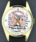 Richard Nixon & Spiro Agnew Pardoned Character Watch by Honest Time Co.