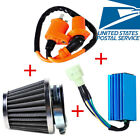 Racing Ignition Coil +6 Pin CDI Box +Air Filter for GY6 50cc 125cc 150cc Engine