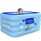 Large Inflatab Swimming Pool Kids Water Play Fun 55IN For One Child