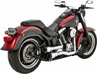 Vance  Hines 16848 Hi Output Grenades 2 Into 2 Full Exhaust Chrome Black