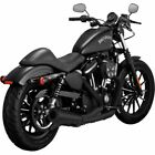 Vance  Hines 2 into 1 Upsweep Black Exhaust System for Harley Sportster 06 17