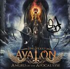 TIMO TOLKKI Avalon - Angels of the Apocalypse STRATOVARIUS CD Autograph / SIGNED