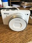Nikon 1 J4 18.4MP Camera with 10-30mm PD-Zoom lens White 3.0 LCD Screen and wifi
