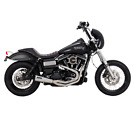 Vance  Hines Stainless 2 Into 1 Upsweep Exhaust For Harley Dyna