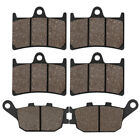 Front Rear Brake Pads For YAMAHA FZ1 Naked 10-13 FZ6 Fazer ABS 2007-2009 YZF R6