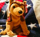 RETIRED beanie baby Courage 9/11 excellent condition dog