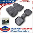 5Pcs Motor Trend Deep Floor Mats  Cargo Set FloorLiner Carpet All Weather Mats