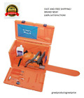 Husqvarna Stackable Orange Chainsaw Storage Carrying Case MADE IN USA