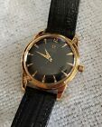 Beautiful Vintage Mens 18k Solid Gold Omega seamaster Automatic Wristwatch