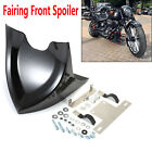 Universal Chin Fairing Front Spoiler For Harley Dyna Touring Electra Gilde 04-17