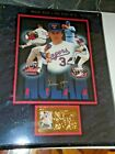 Nolan Ryan King of K Autographed Signed Photo on Plaque with 23K Gold Stamp COA