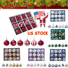 Vintage Christmas Tree Ball Baubles Decoration Xmas Hanging Party Ornament Decor