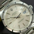 ROLEX OYSTER PERPETUAL DATE 15010 BOX/PAPERS/1 YEAR WARRANTY 1989 YEAR