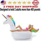 Giant Inflatable Unicorn Pool Float Float Ride toy for kids adult water NEW gift