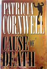 Cause of Death by Patricia Cornwell 1st hc dj VG Signed Mystery