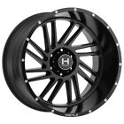 20 Inch Hostile H110 Stryker 20x10 8x65 19mm Satin Black Wheel Rim