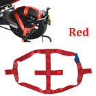 1 Pc RED Motorbike Transportation Rear Wheel Tie Down Strap 1000kg Working pull