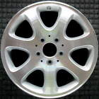 Mercedes Benz CLK320 Machined w Silver Spokes 16 inch OEM Wheel 2003 2004