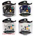 4 BRAND NEW CONTROLLERS FOR NINTENDO GAMECUBE or Wii GREEN ORANGEPURPLESILVER