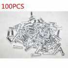 100x Alloy Bicycle Brake Gear Cable End Crimps Cap Old School BMX MTB Road Bike