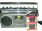 Panasonic Boombox RX-5040 Portable Tape Cassette Player Tested Radio 2 Cassettes