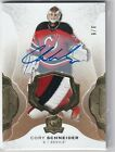 2016-17 UPPER DECK THE CUP GAME USED AUTO PATCH GOLD 8 CORY SCHNEIDER - DEVILS