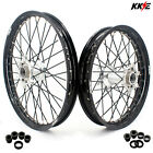 21/18 ENDURO CASTING WHEELS RIMS SET FIT KTM EXC EXC-F MXC 125-530 250 350 450