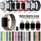 38/42mm 40/44mm Soft Nylon Watch Band Sport Loop for Apple iWatch Series 4 3 2 1