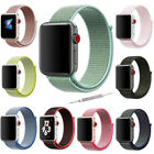 Band Loop Nylon Woven Sport 38/42/40/44mm Watch For Apple iWatch Series 4/3/2/1