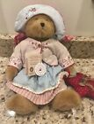 "Rare Boyd's Bear Star Spangler Angel Wings Fashion Family Collection 14"" Tags"