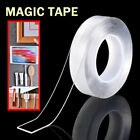 Magic Double sided Tape Traceless Washable Adhesive Gel Nano Invisible Tape