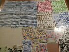 alphabet letters stickers for scrapbooking crafts assorted colors big lot