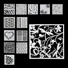 13pcs lot Embossing Template Scrapbooking Walls Painting Layering Stencils YK