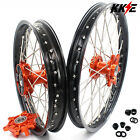 2.5*19''/4.25*17 Supermoto CUSH Drive Wheels Rims Set For KTM 950 990 2003-2017