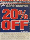 5 20 off Harbor Freight Any Single Item + Super Cpns Pages Exp Nov Dec 2019