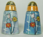Vintage Salt  Pepper Shakers 3 Floral Style Collectable Shaker Japan Made S9