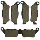 F&R Brake Pads For CCM CMX 450 (MX) 08 404 E 03-04 604E Dual Sport/Supermoto/RS