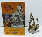 DAVID WINTER COTTAGES: FRED'S HOME 1991 Christmas Special Edition Retired Statue