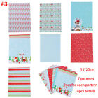 Printed Photo Album Merry Christmas Scrapbooking Pad Background Paper Stickers