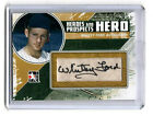 WHITEY FORD 2011 IN THE GAME HEROES AND PROSPECTS NICE AUTOGRAPH  AUTO