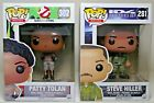 FUNKO POP! GHOST BUSTERS PATTY TOLAN INDEPENDENCE DAY STEVE HILLER MIP