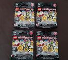 Lego Series 8 Lot! **FAIRY, VILLAINESS, VAMPIRE BAT & PIRATE** Facotry Sealed!!
