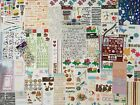 Huge lot 116 Sheets SCRAPBOOKING STICKERS many varieties  themes scrapbook