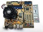 ASUS A8M2N LA Socket AM2 DDR3 ATX AMD Motherboard W CPU  1GB RAM TESTED