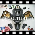 For Suzuki TL1000R 1998-2003 Fairing Bodywork ABS Plastic Black Gold 2n29 PA