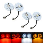 3 Inch Yellow White Red LED 1157 Turn Signal Lights DRL Fit for Harley Softail