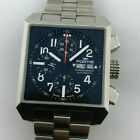 FORTIS SQUARE FLIEGER AUTOMATIC CHRONOGRAPH VALJOUX 7750 REF: 667.10.141